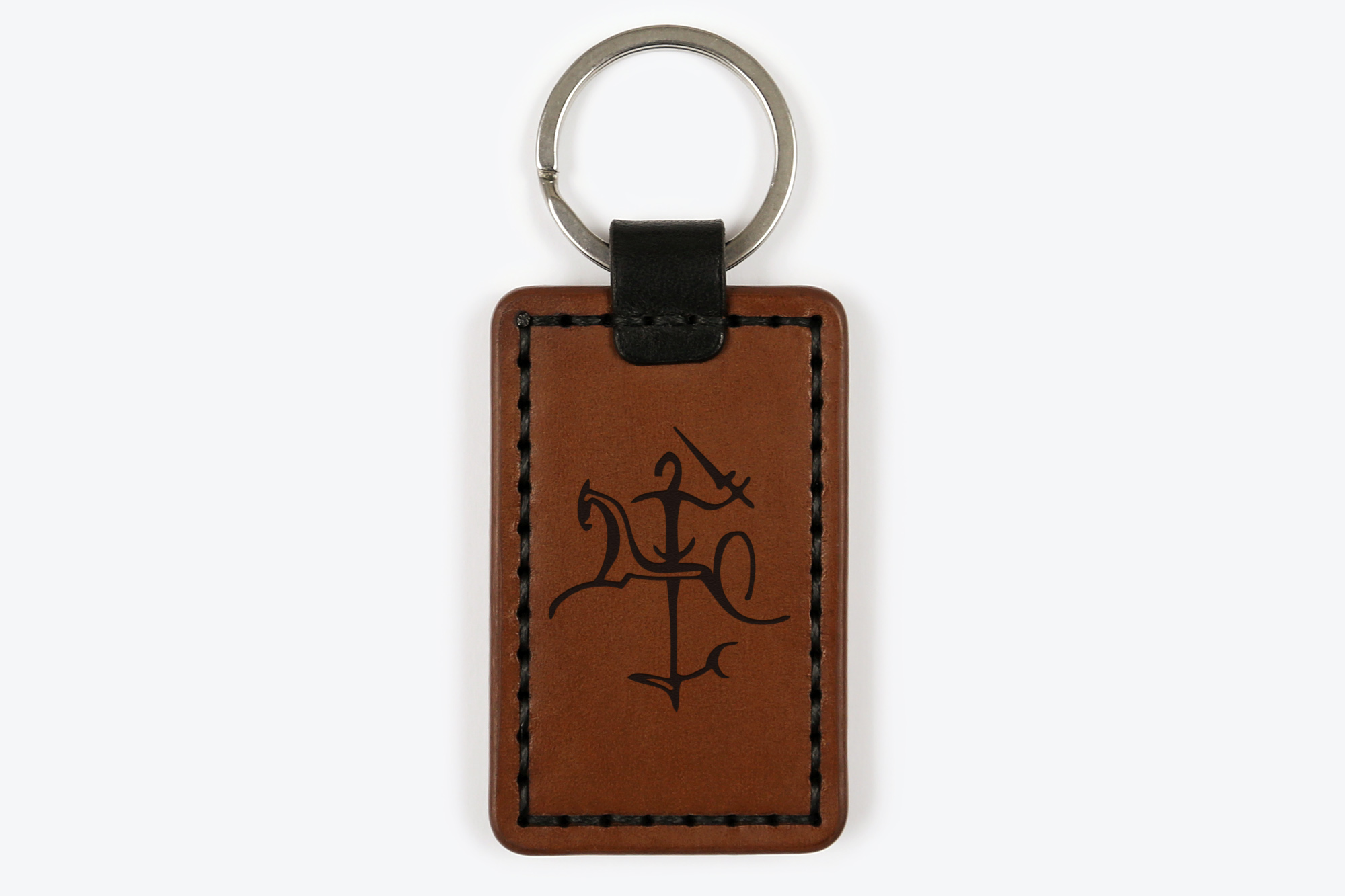 Odinis raktų pakabukas su išgraviruotu Vyčiu