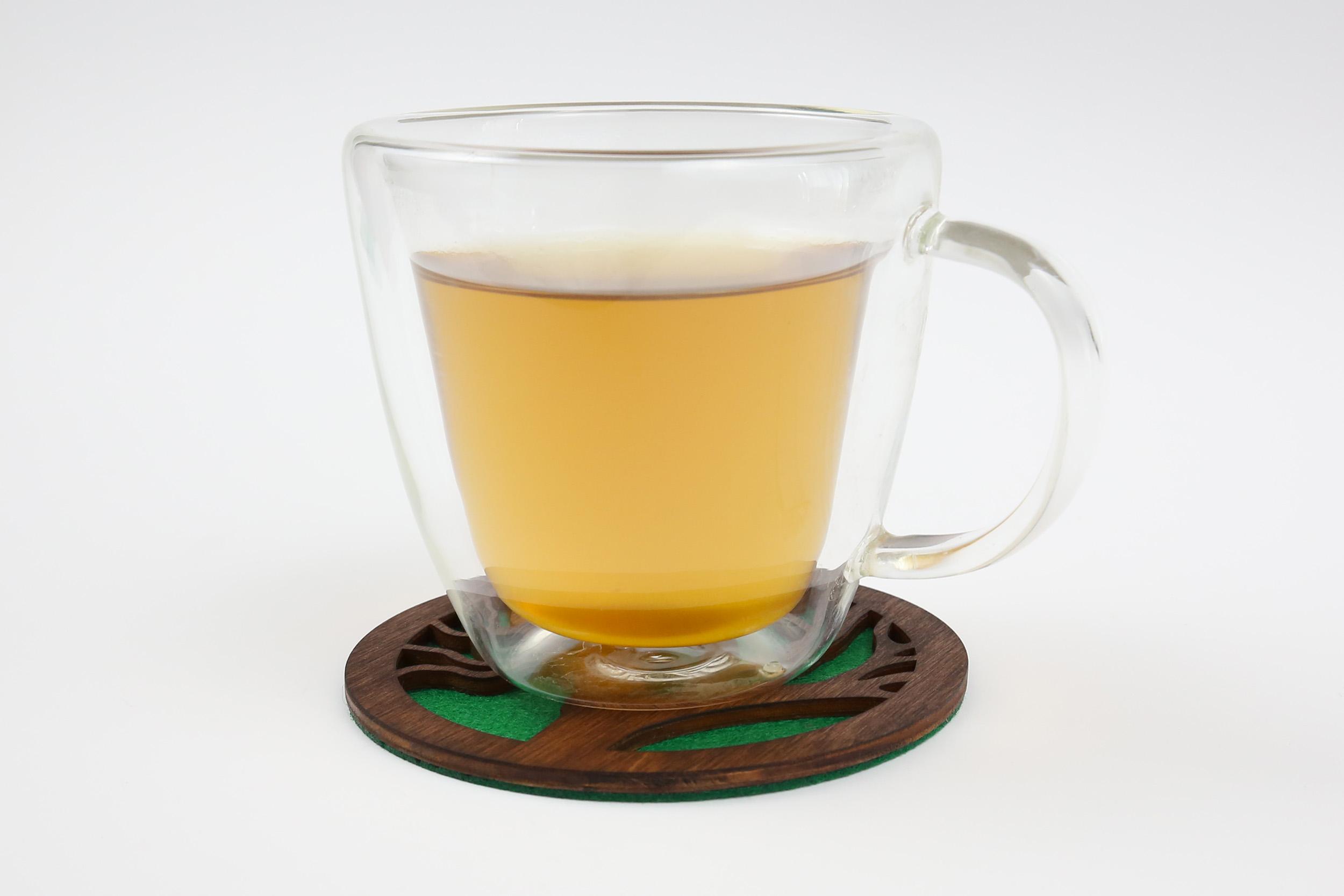 Medinis padėkliukas puodeliui – Gyvybės medis