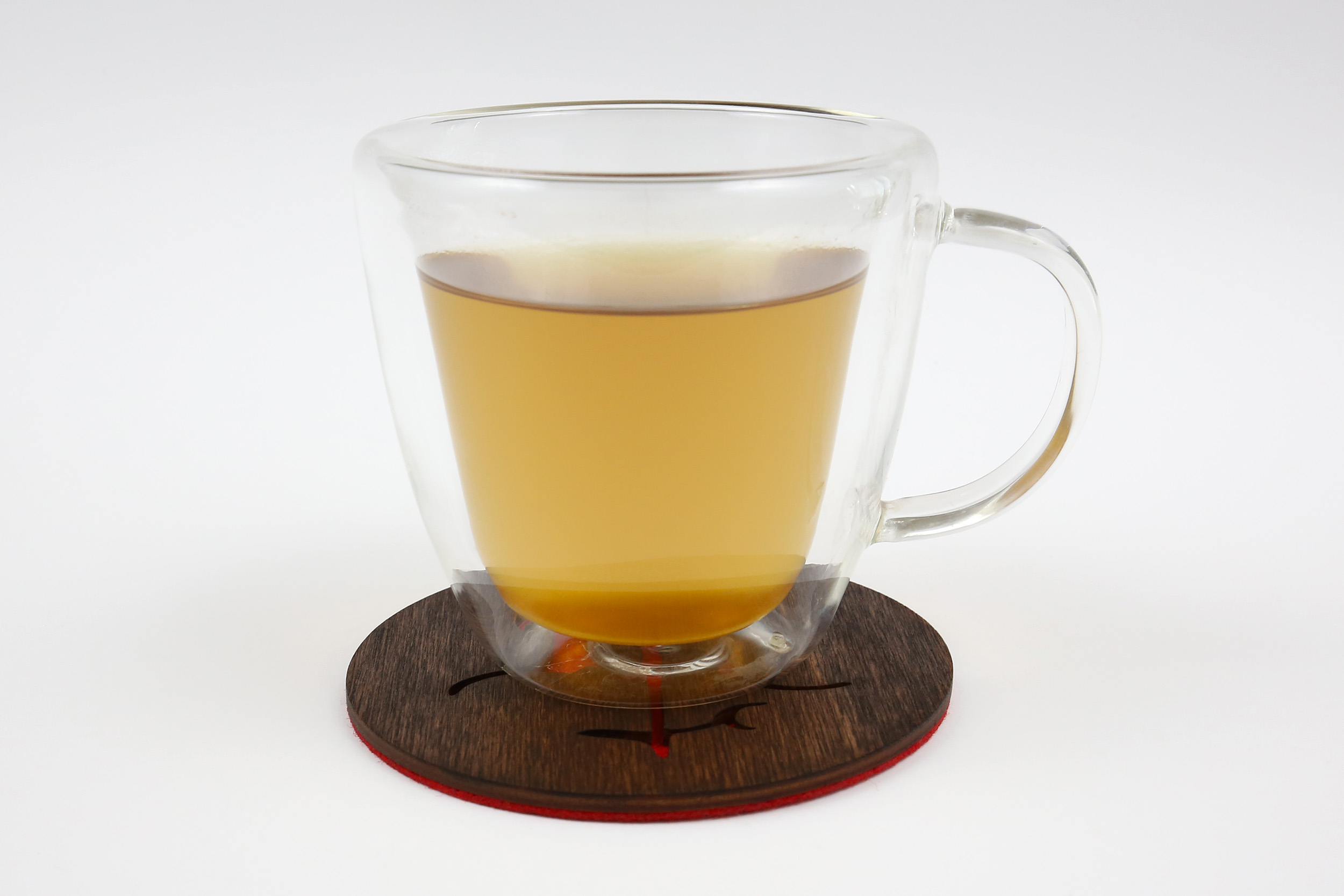 Medinis padėkliukas puodeliui – Vytis