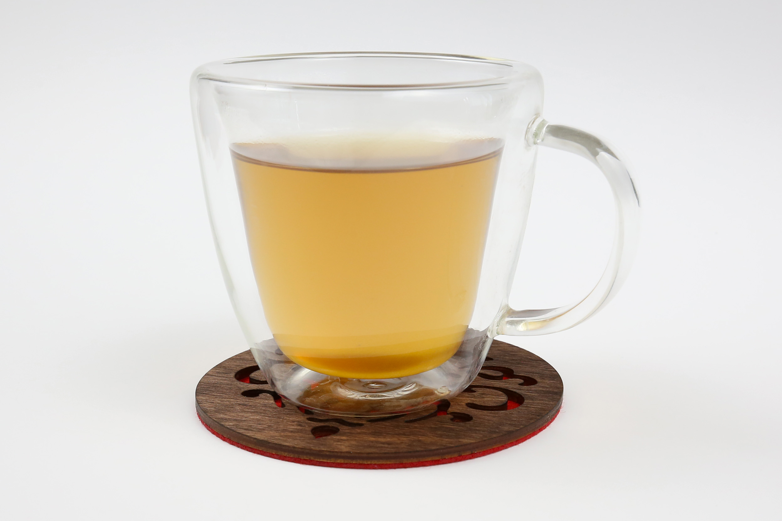 Medinis padėkliukas puodeliui – Royal