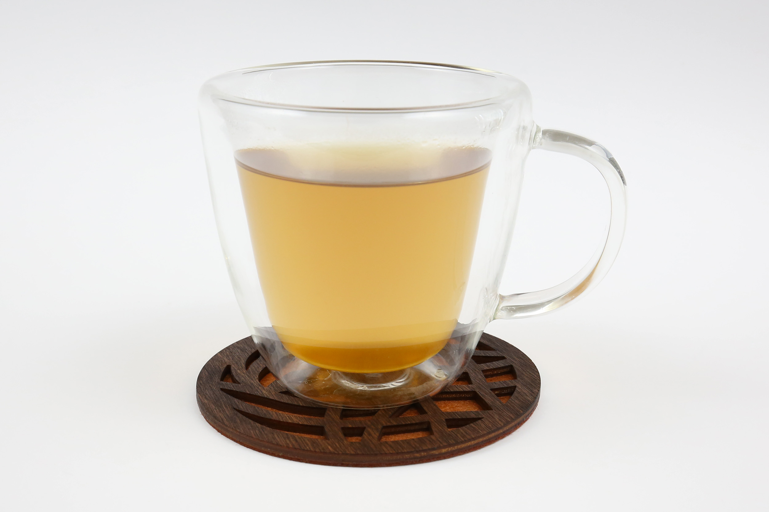Medinis padėkliukas puodeliui – Vijokliai